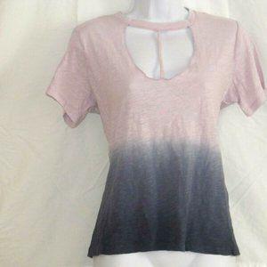 RUE 21 Top T-shirt Cap sleeve100% Cotton M New